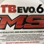 やっぱりTB.EVO6も好き!!パワーアップしたTB.EVO6MSを組み立てました(/・ω・)/