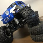 【RC】タイヤがでっかくなっちゃった!!CC-01にCR-01のタイヤは取り付けられるのかな??