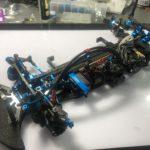 【RC】最新ハイエンドシャーシTRF420を明日(今日になってしまった)に向けて組み立てます!!後編